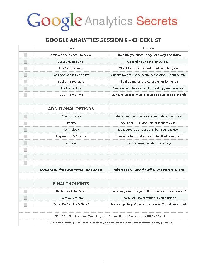 sample-checklist